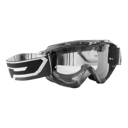Pro Grip 3450 Carbon Light Sensitive MX Goggles Carbon Fiber Pro Grip Carbon Fiber