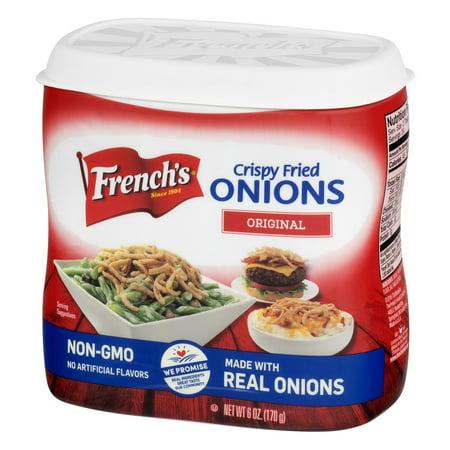 Frenchs Crispy Fried Onions Original  6 0 Oz