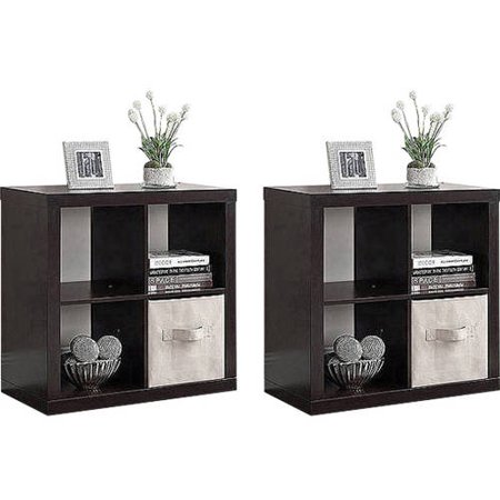 Better Homes And Gardens Square 4 Cube Organizer Set Of 2 Mix And Match