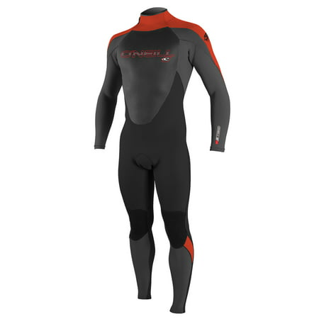 O'NEILL YOUTH EPIC 4/3 FULL WETSUIT, GRAPH/BLACK/RED, Size 10