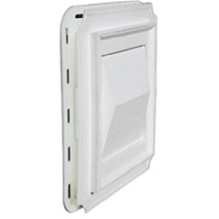 Builder Best 111716 J-Block Dryer Vent Hood White