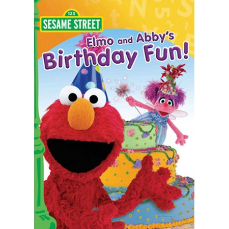Sesame Street: Elmo & Abby's Birthday Fun (DVD)