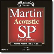 Martin Sp Series Phosphor Bronze Light Gauge Acoustic Strings