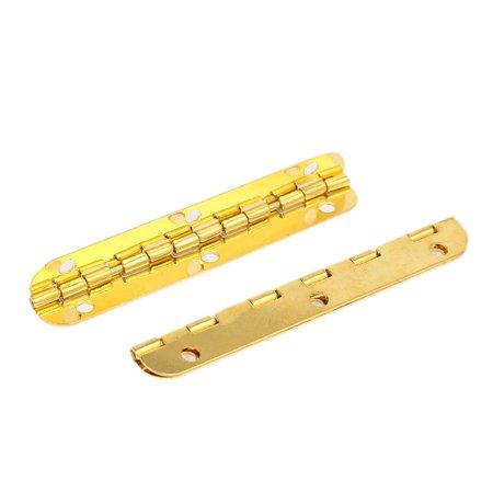 65mmx13mm Rectangle Shape Folding Hinge 2pcs for Cabinet Door Jewelry Box - image 2 of 2