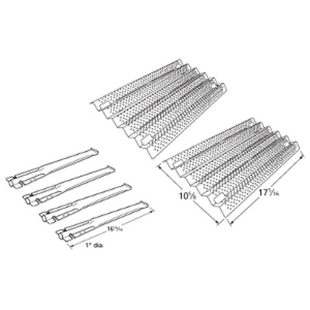 Costco 720-0193, 720-0432 Grill Burners, Heat Plates Grill Repair - Heat Dish Costco