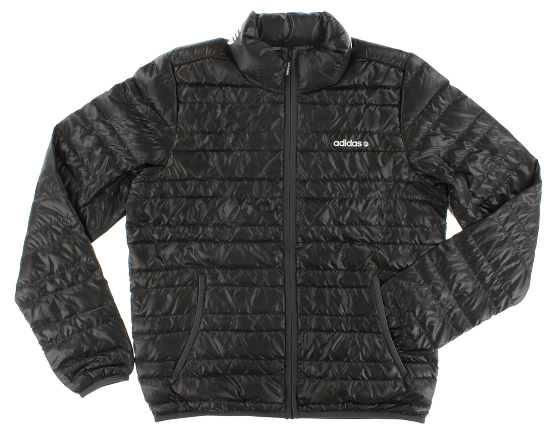 Adidas Mens Lightweight Down Jacket Black