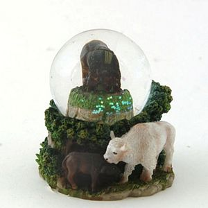 Mini Globe Bison (Cres) by Cadona CD30131A by Cadona International Inc