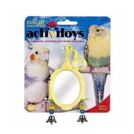 Activitoys Bird (JW Pet Activitoy Fancy Mirror Small Bird Attractive and Delightful Bells)