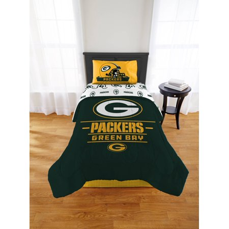 NFL Green Bay Packers Monument Comforter Set (Green Bay Packers Party Decorations)