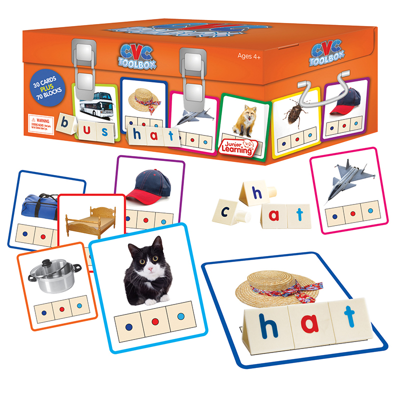 Junior Learning - CVC Toolbox - Educational Learning Game