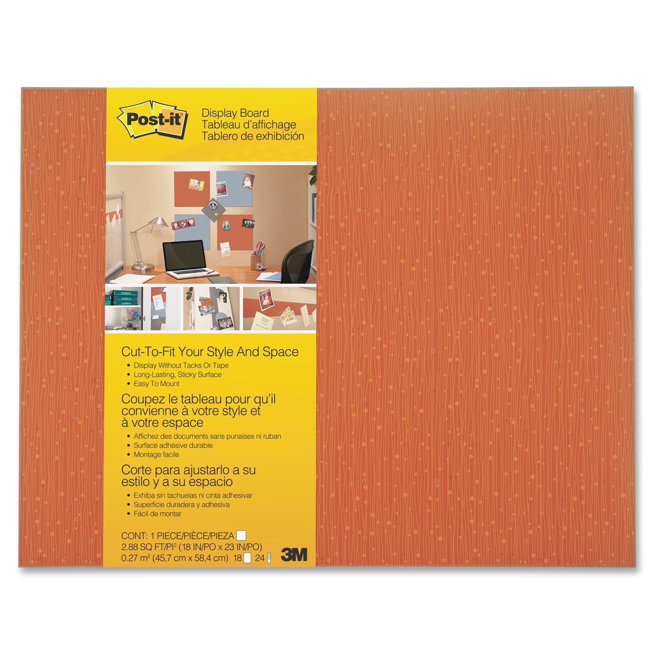 Post-it Cut-to-Fit Display Boards, 1 Each (Quantity)