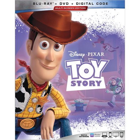 Toy Story (Blu-ray + DVD + Digital)](Toy Story Halloween Vhs)
