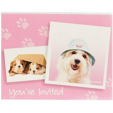 rachaelhale Glamour Dogs Invitations, 8pk ()