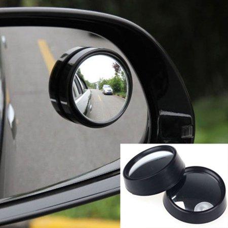 1 Pair Automotive Blind Spot Zone Mirror Car Rear View Side Door Adjustable Round Mirror Car Accessories - image 4 de 7