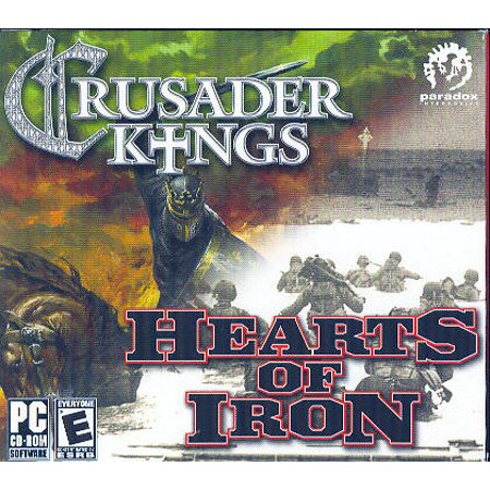 2 PC Game Set - Crusader Kings: Medieval Grand Strategy & Hearts of Iron: WWII Grand (Best Grand Strategy Games Pc)