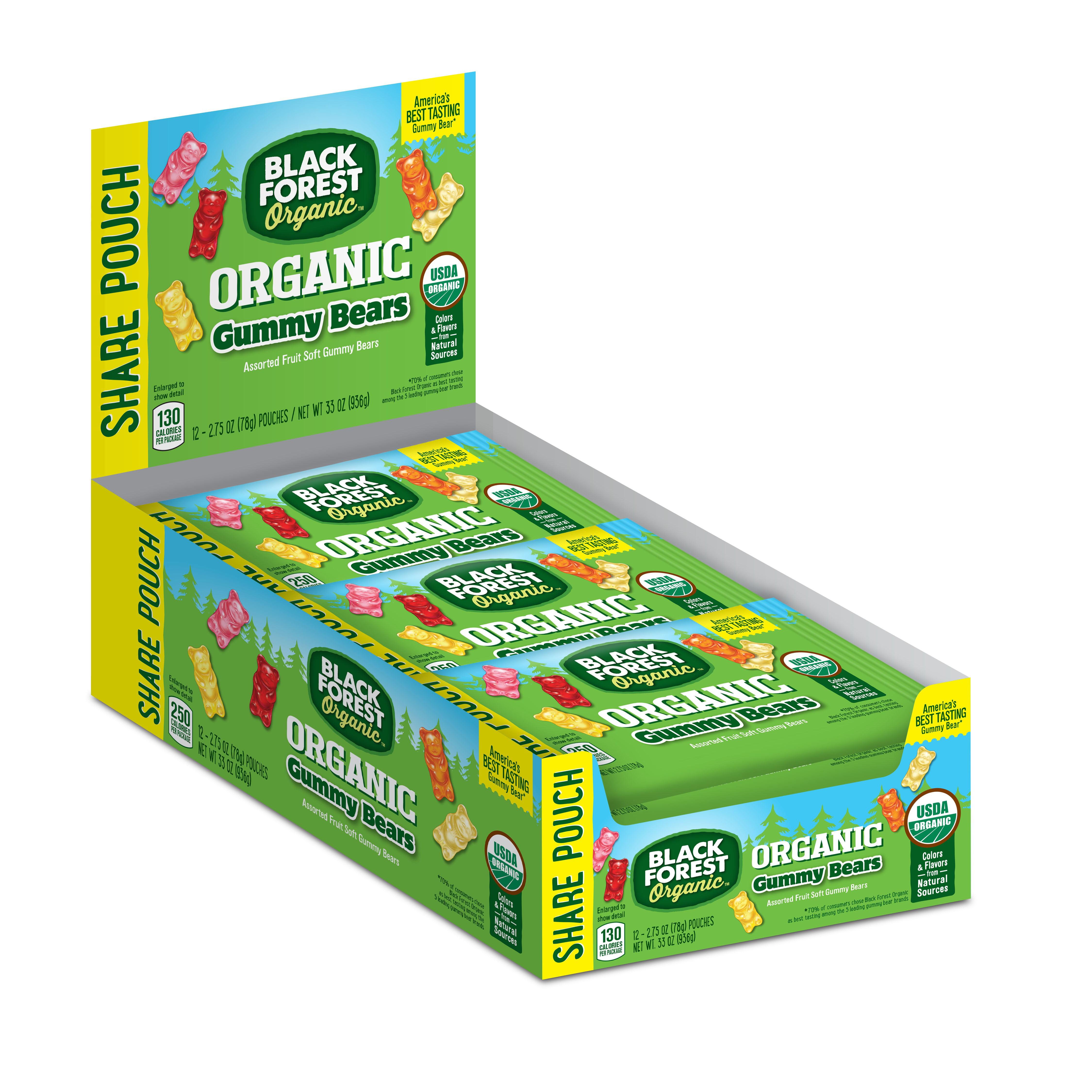 Black Forest Organic Organic Gummy Bears, 2.75 Oz by Ferrara Candy Company