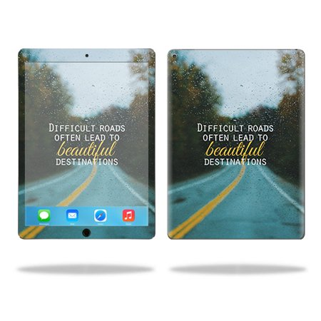 "Skin Decal Wrap for Apple iPad Pro 12.9"" Be Happy"