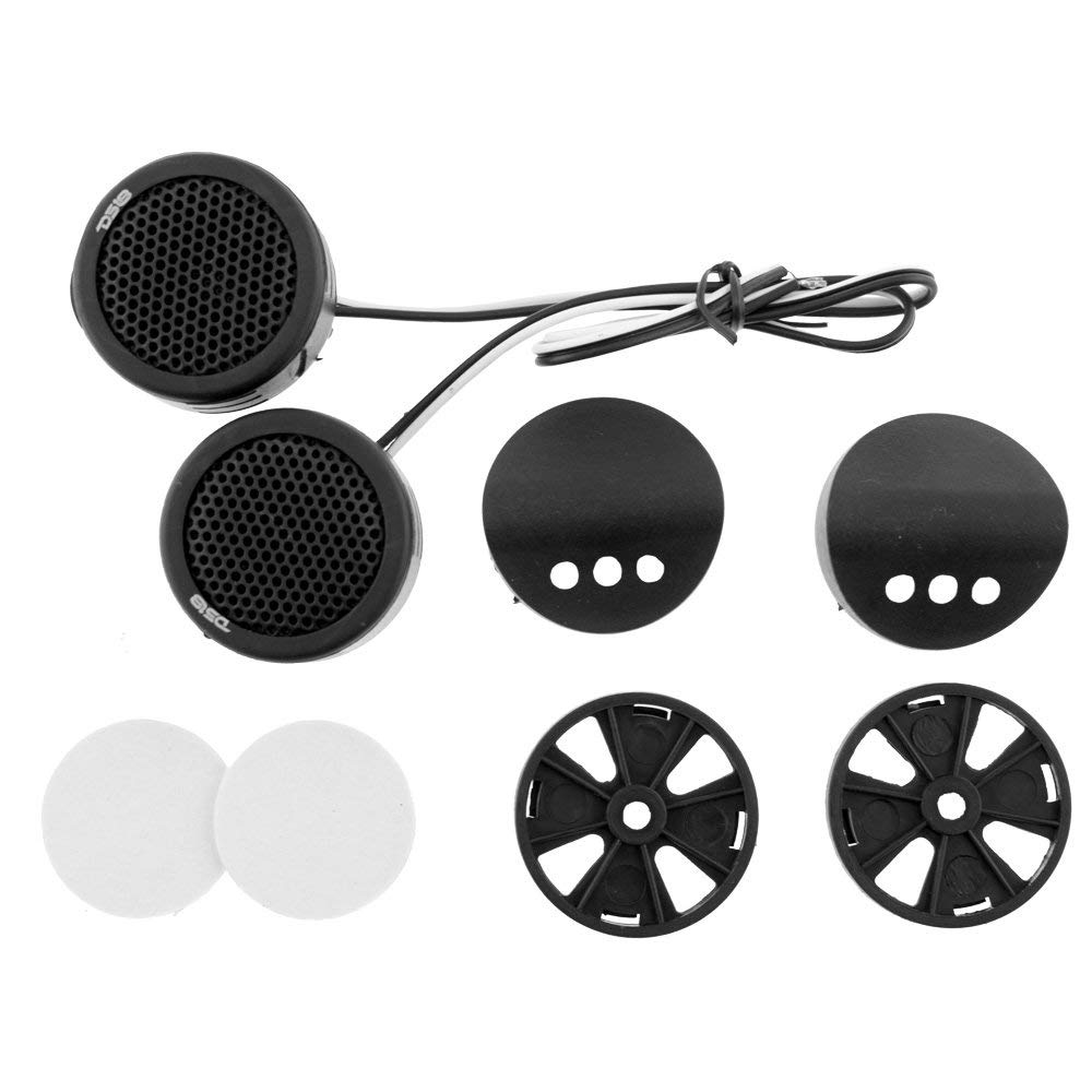 "2 DS18 TWPZ 1"" Inch Mirco Dome Tweeters 4 Ohms 80 Watts Max Built In Crossover"