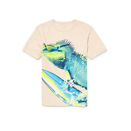 The Children's Place Boy's Surfing Iguana Graphic - Disney Children's Clothing