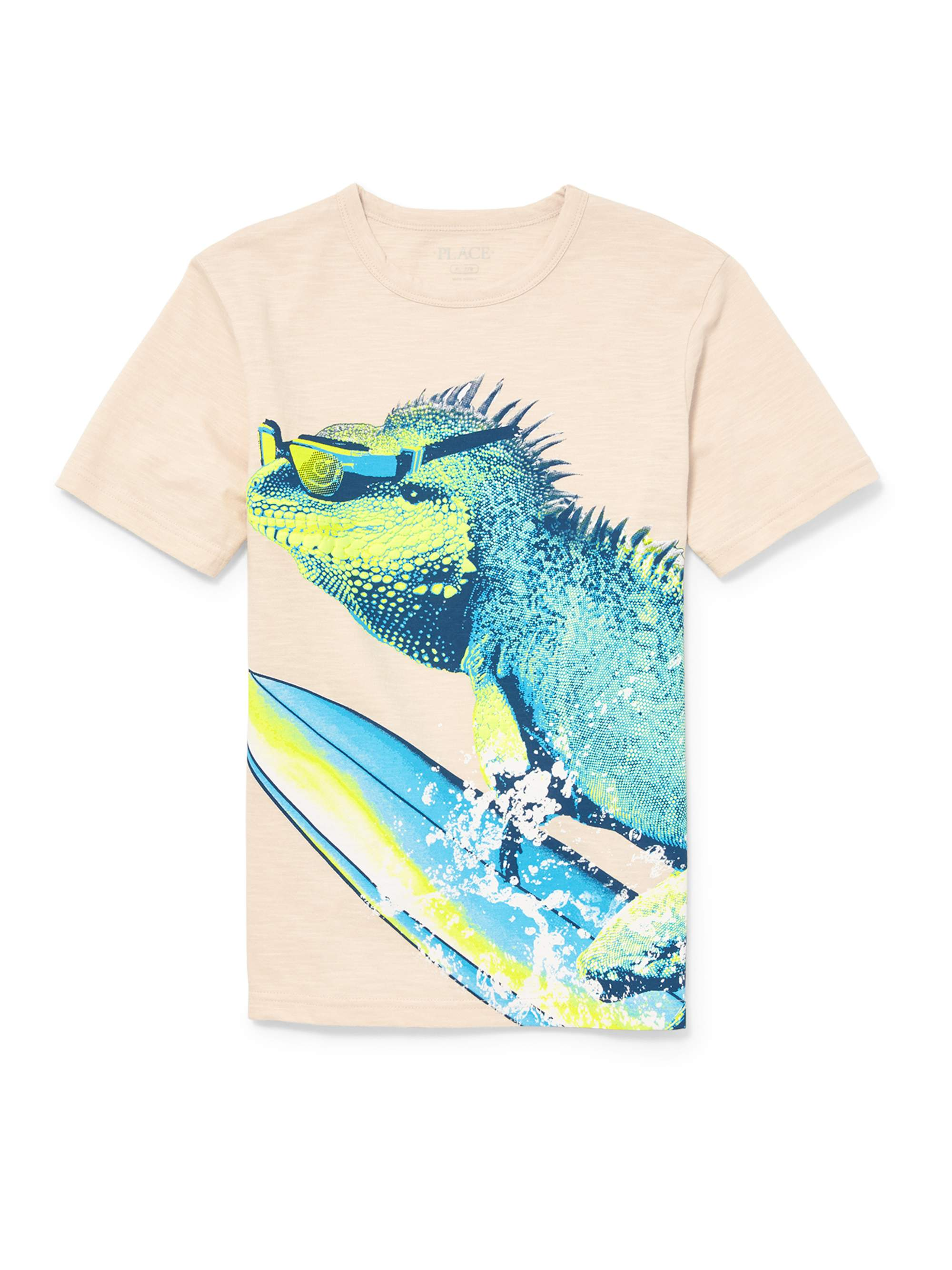 The Children's Place Boy's Surfing Iguana Graphic Tee