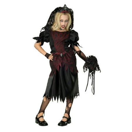 Child Zombie Prom Queen Costume Rubies 882062