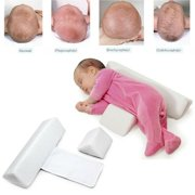 Baby Side Sleep Pillow Support Wedge Adjustable Newborn Infant Anti-Roll Cushion