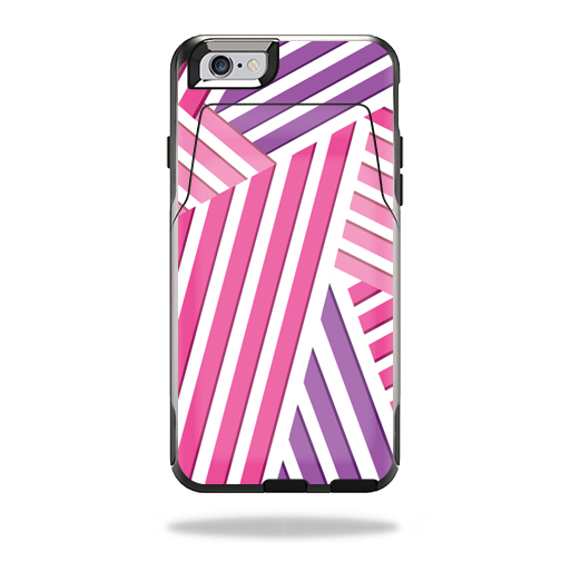MightySkins Protective Vinyl Skin Decal for OtterBox Commuter iPhone 6/6S Wallet Case wrap cover sticker skins Lipstick