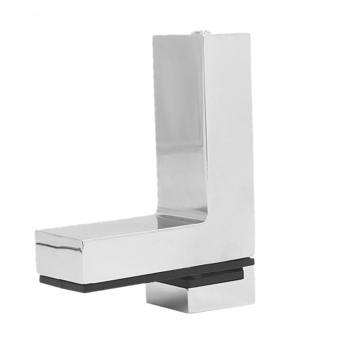 Wall Cabinet Metal Adjustable Glass Clip Shelf Clamp Support Bracket Holder - image 5 of 6