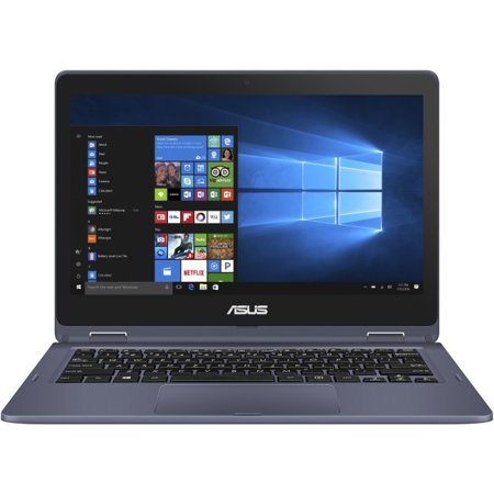 ASUS VivoBook Flip 12 Thin & Light 2-in-1 HD Touchscreen Laptop - Asus Touch Screen