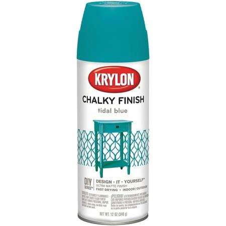 Chalky Finish Aerosol Spray Paint 12oz-Tidal