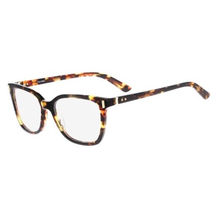 Calvin Klein Collection CK8528 Eyeglasses 229 Shimmer Dark Tortoise