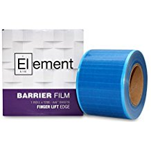 Element BLUE Barrier Film Roll with Dispenser Box - 1200 perforated 4x6 Sheets