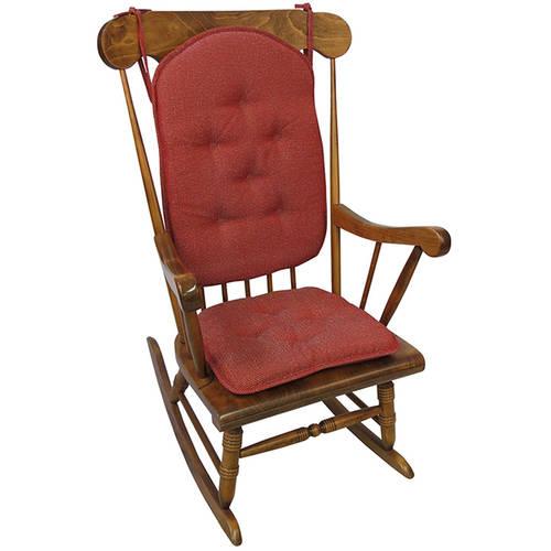 Gripper 2-piece DelightFill Rocking Chair Cushions, Venus