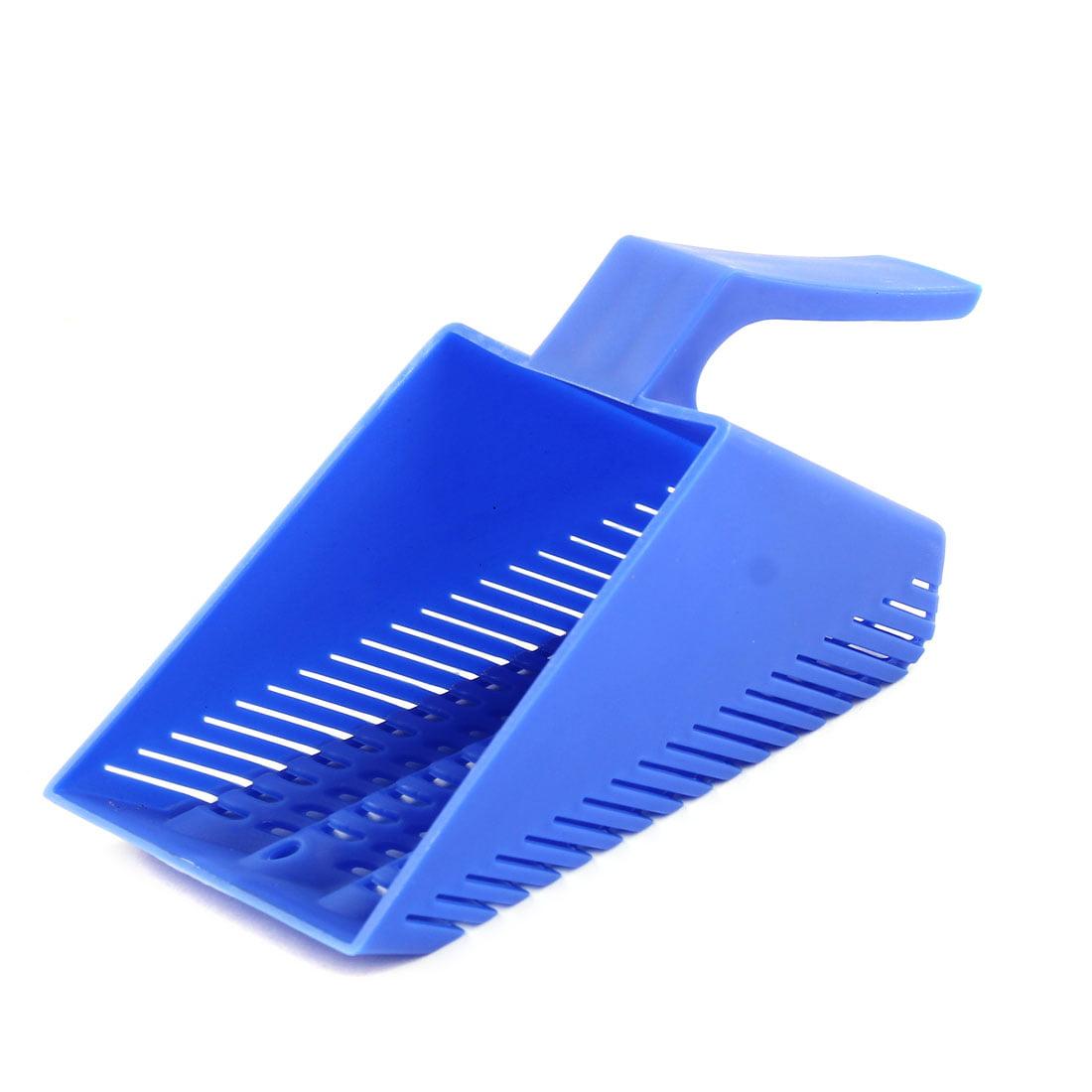 Fish Tank Plastic Hand Held Scraper Gravel Cleaner Cleaning Tool Sand Scoop