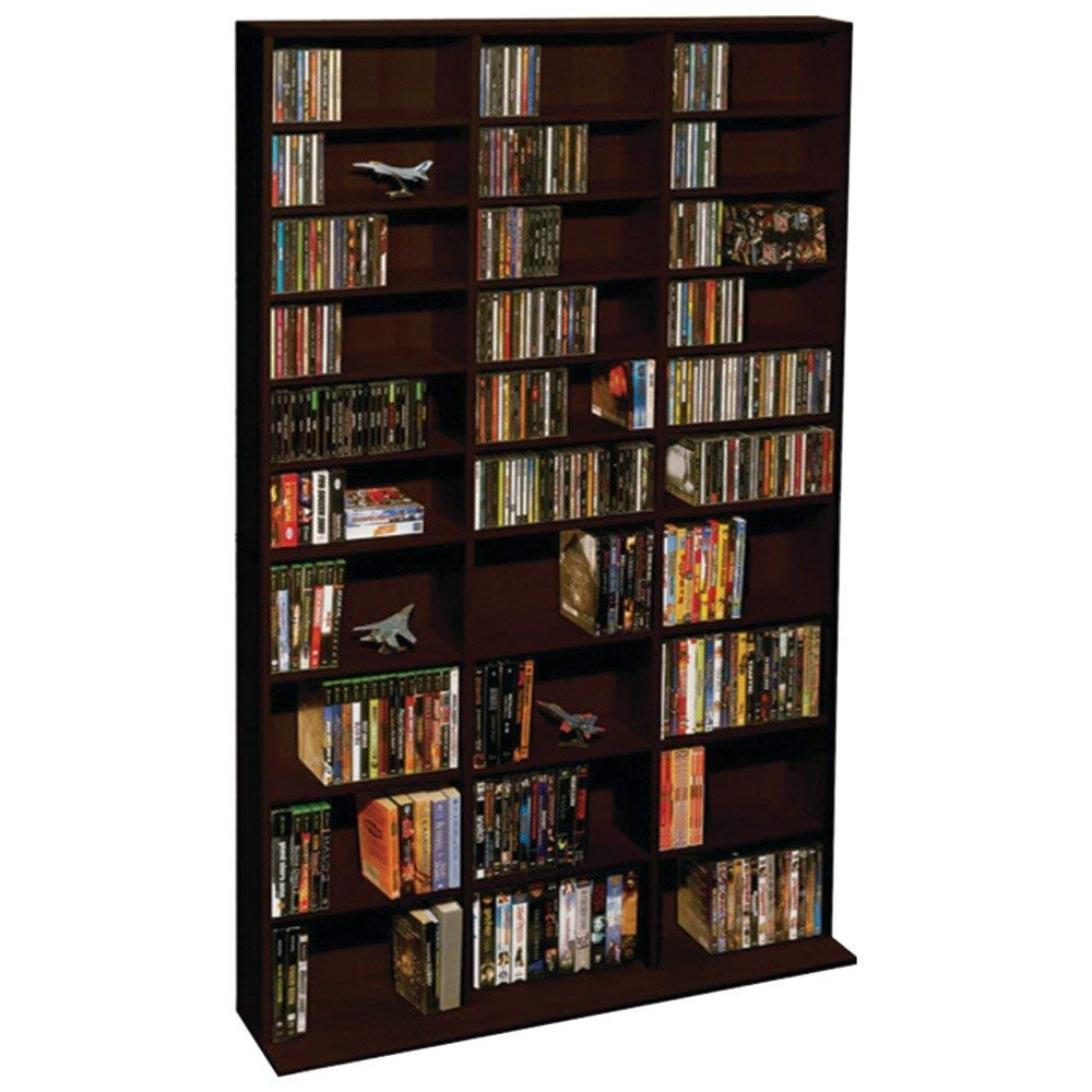 Atlantic Oskar 1,080-cd Multimedia Shelf Storage Cabinet