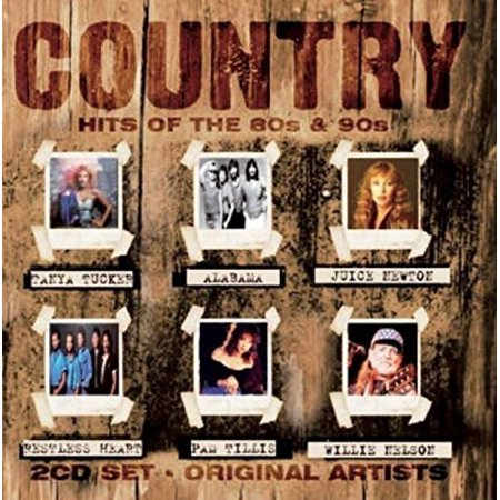 Various Artist - Country Hits of the 80's & 90's [CD]