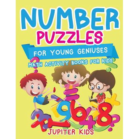 Number Puzzles for Young Geniuses : Math Activity Books for Kids - Halloween Math Puzzle High School