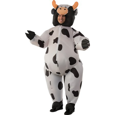 Cow Inflatable Adult Costume Cow Farm Animal Costume