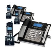 RCA ViSYS 25423RE1 & H5401RE1 (3-Pack) GE / RCA Cordless / Corded Phone System