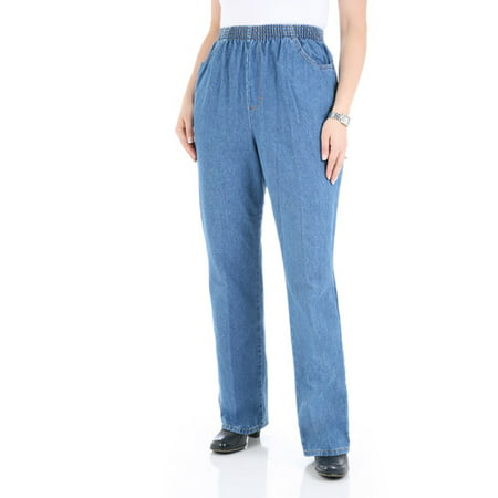 Chic Chic Women S Comfort Collection Elastic Waist Pants