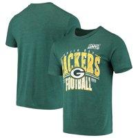 Green Bay Packers 100th Season Championship Tri-Blend T-Shirt - Green