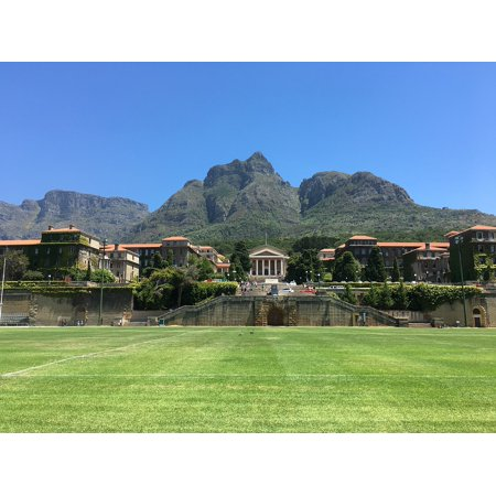 LAMINATED POSTER Uct South Africa Cape Town University of Cape Town Poster Print 11 x (University Town Center Map)
