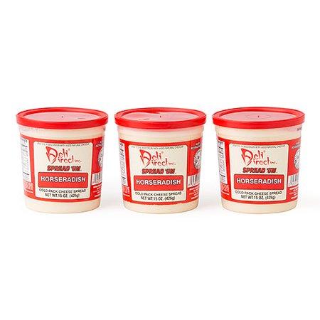 Deli Direct Spread \'Um Horseradish Cheese Spread, 45 oz (Horseradish Cheese)