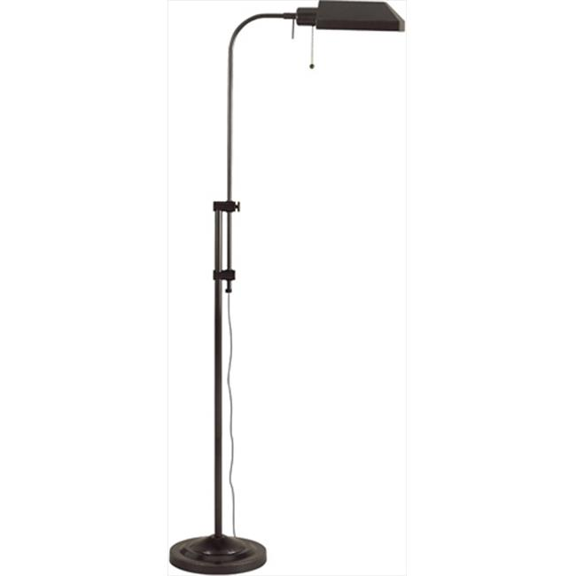 Cal Lighting Bo 117fl Db 100 W Adjule Height Pharmacy Floor Lamp Dark Bronze