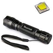 Skysted Wf-501B 1 Mode Cree XM-L2 U2 U3 LED 1200 Lumen Mini Portable Single Handheld Flashlight Torch Lamp,for Outdoor Sports and Indoor Activities
