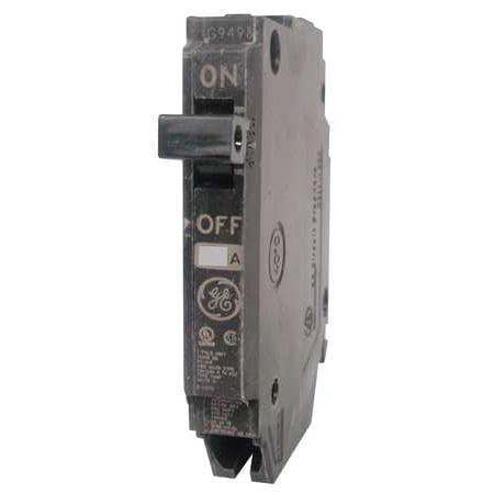 GENERAL ELECTRIC Circuit Breaker40A1P10kA120VAC THQP140