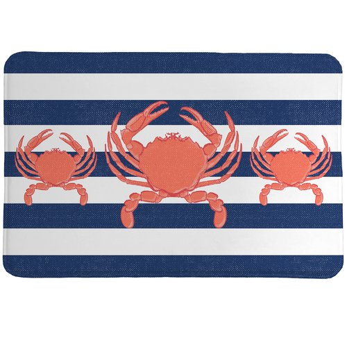 Laural Home Crab Stripe Mat