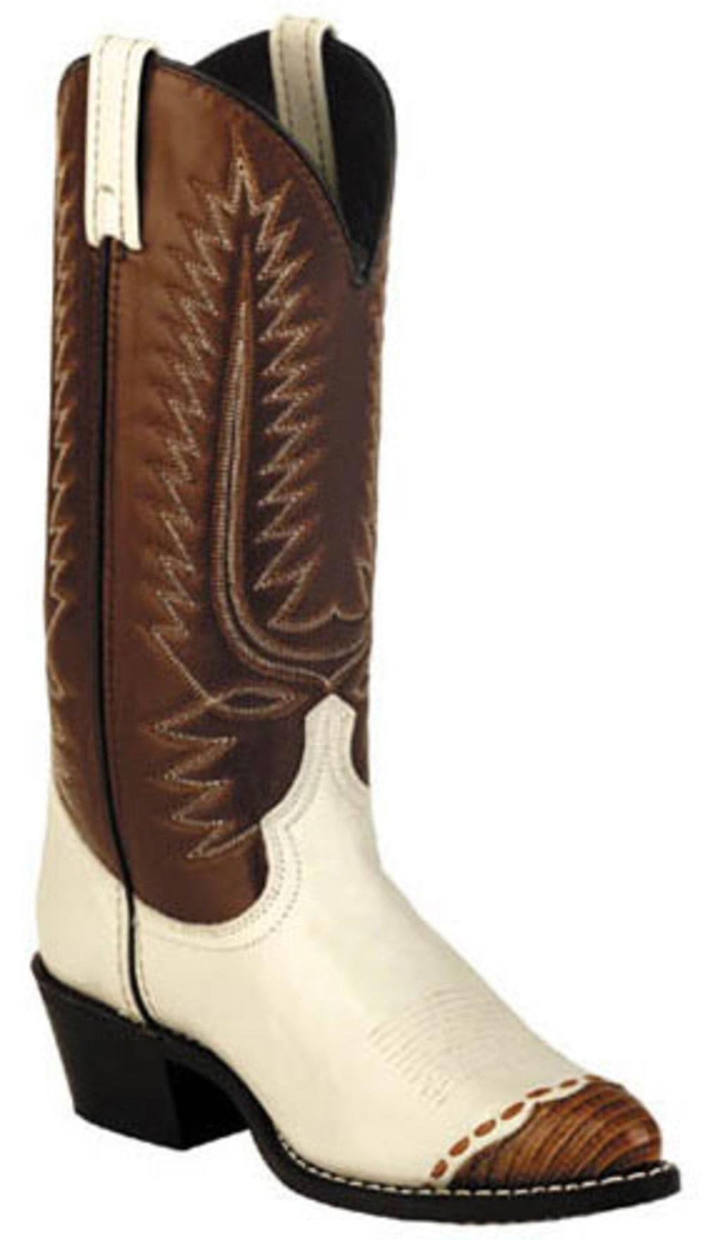 "Men's Laredo 13"" Classic Cowboy Boots TAN 6.5 EW by"