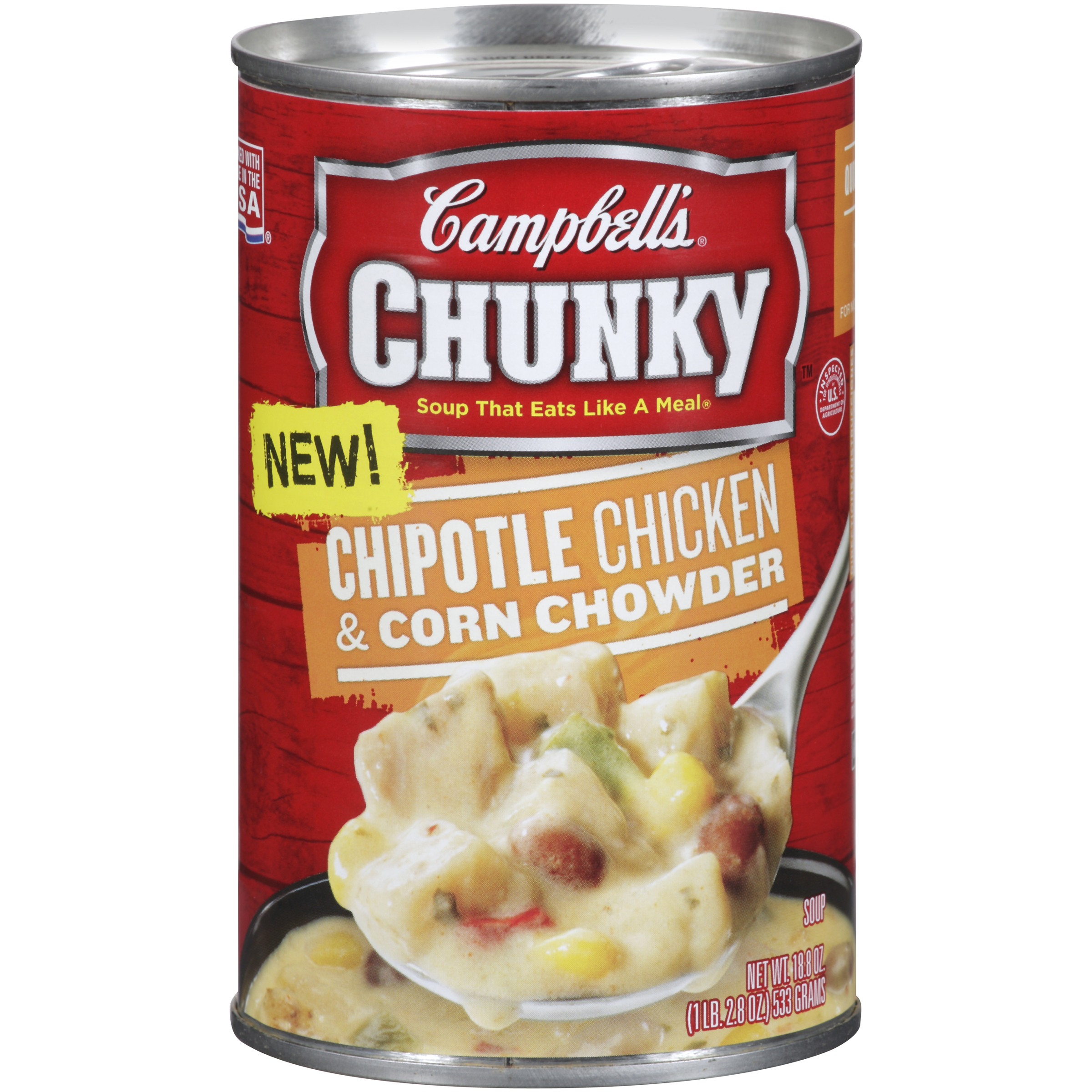 Campbell's Chunky Chipotle Chicken & Corn Chowder 18.8oz