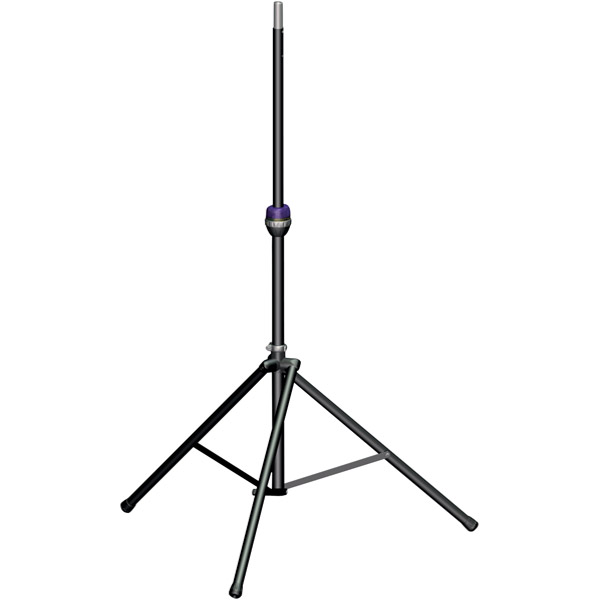 Ultimate Support Music Products Ts-99bl Tall Telelock Speaker Stand With Leveling Leg (ts99bl) by Ultimate Support Music Products